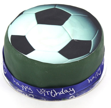 Football Celebration Cake Football Celebration Cake UK ...