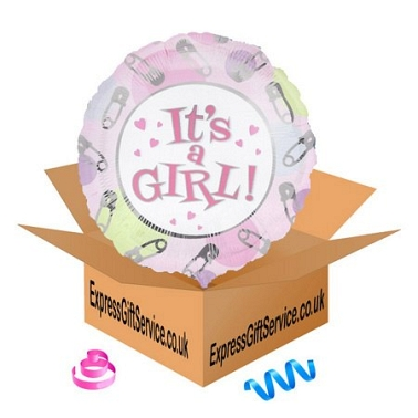 Its A Girl Balloon Delivery to UK [United Kingdom]