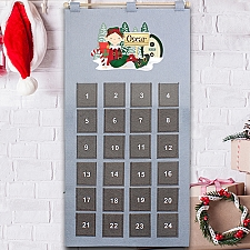 Personalised Elf Advent Calendar Delivery to UK