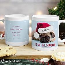 Personalised Rachael Hale Christmas Mug