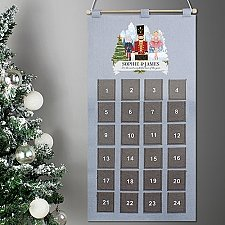 Personalised Nutcracker Advent Calendar Delivery to Uk
