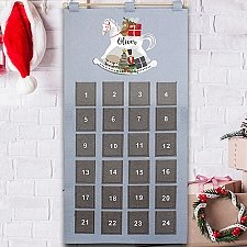 Personalised Rocking Horse Advent Calendar Delivery to UK
