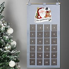 Personalised Santa Advent Calendar Delivery to UK