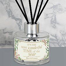 Personalised Christmas Reed Diffuser
