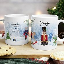 Personalised Nutcracker Mug Delivery to UK