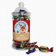 Rudolph Toffee Jar delivery to UK [United Kingdom]