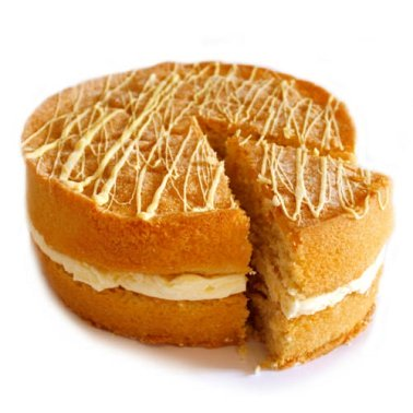 Lemon Sponge Cake delivery to UK [United Kingdom]