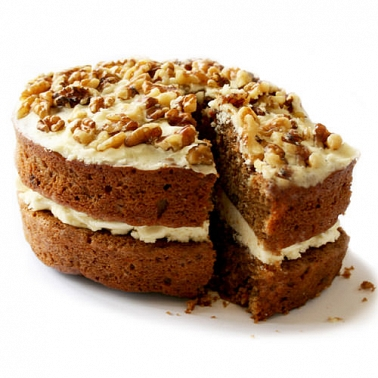 Carrot Sponge Cake delivery to UK [United Kingdom]