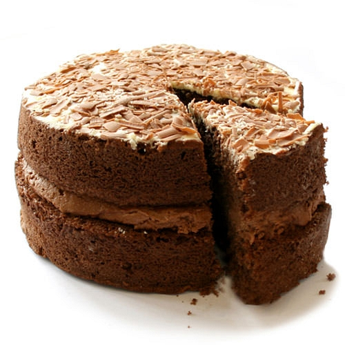 Chocolate sponge cake by post order chocolate sponge for Chocolate sponge ingredients
