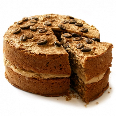 Coffee Sponge Cake delivery to UK [United Kingdom]