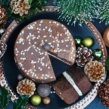 Peppermint Crisp Sponge Cake Delivery to UK