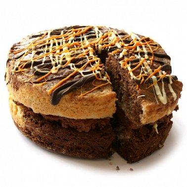 Chocolate Orange Sponge Cake delivery to UK [United Kingdom]