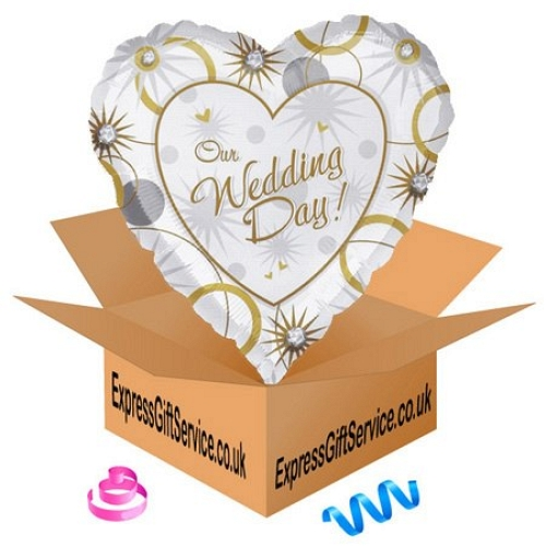 Our Wedding Day Balloon Delivery UK