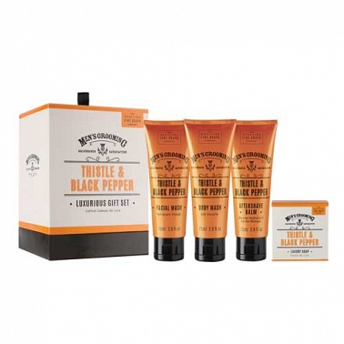Thistle & Black Pepper Luxurious Gift Set delivery UK