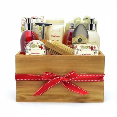 Woodlands Wooden Storage Box delivery UK