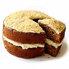Apple Crumble Sponge Cake delivery to UK [United Kingdom]