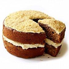 Apple Crumble Sponge Cake