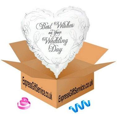 Wedding Doves Best Wishes Balloon