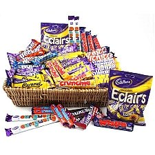 Large Cadbury Chocolate Basket delivery to UK [United Kingdom]