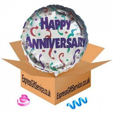Happy Anniversary Celebration Balloon