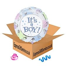 Its A Baby Boy Balloon delivery to UK [United Kingdom]
