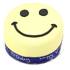 Smiley Celebration Cake For Boy delivery to UK [United Kingdom]
