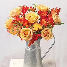Autumn Freesias and Roses Delivery to UK
