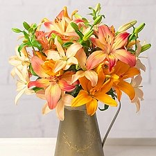Autumn Lilies delivery to UK [United Kingdom]