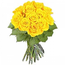 One Dozen Yellow Roses delivery to Qatar