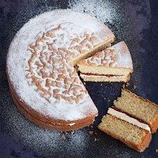 Victoria with Vanilla Butter Cream Cake