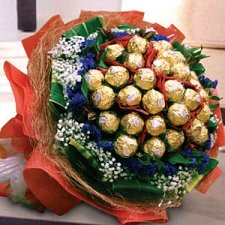 29 Chocolates Bouquet delivery to China