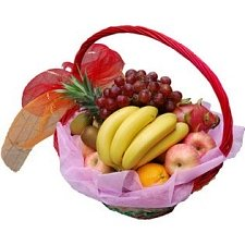 Fancy Fruit Basket B delivery to China