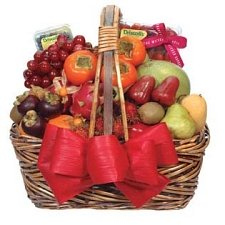 Fancy Fruit Basket D delivery to China