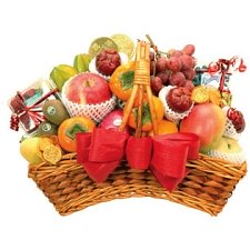 Fancy Fruit Basket F delivery to China