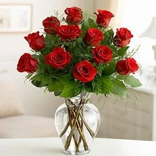 Full Love red roses delivery to China