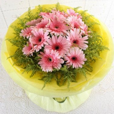 Pink Blessing Flowers delivery to China