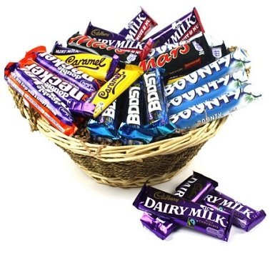 Occasions Chocolate Basket delivery to UK [United Kingdom]