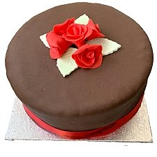Chocolate Rose Cake delivery to UK [United Kingdom]