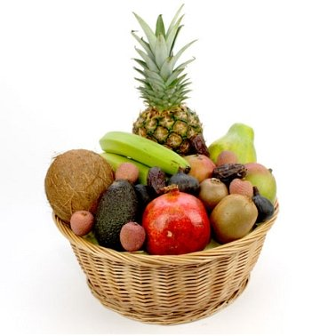Hawaiin Fruit Basket delivery to UK [United Kingdom]