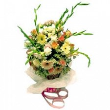 Bouquet Of Pink Flowers delivery to Saudi Arabia